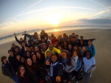 Sauveteurs pour un stage ocean avec le lycee ARAGO de Nation - Paris cohesion à Vannes